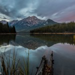 2937 Sunrise, Pyramid Mountain, Jasper National Park, Alberta, Canada