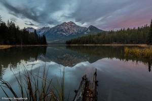 2937 Sunrise, Pyramid Mountain, Jasper National Park, Alberta, Canada