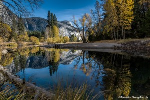 2953 Merced Reflections, November, Yosemite National Park, CA