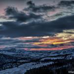 2992 Sunrise, Yellowstone National Park, February