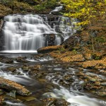 3082 Mohican Fall, October, Ricketts Glen State Park, PA