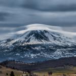 3239 Lenticular Clouds. Mt. Shasta, CA