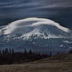 3240 Lenticular Clouds. Mt. Shasta, CA