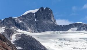 3570 Peak Along Endicott Arm at Saywer's Glacier, Southeast Alaska