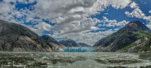 3574 Panorama, Dawes Glacier, Endicott Arm, Alaska