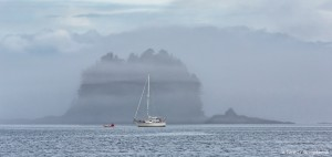 3580 Foggy Morning, Stevens Passage, Alaska