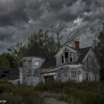 3761 Dilapidated, Abandoned House, Maine