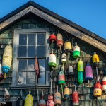 3765 Buoy-covered Building, Bass Harbor, Bernard, ME