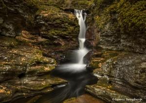 3785 Adam's Falls, October, Ricketts Glen State Park, PA