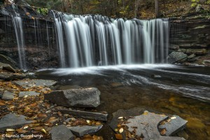 3786 Oneida Falls, October, Ricketts Glen State Park, PA