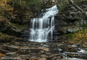 3788 Ganoga Falls, October, Ricketts Glen State Park, PA
