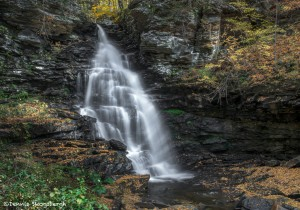 3792 Ozone Waterfall, October, Ricketts Glen State Park, PA