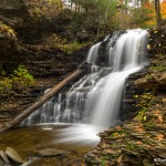3793 Shawanee Waterfall, October, Ricketts Glen State Park, PA
