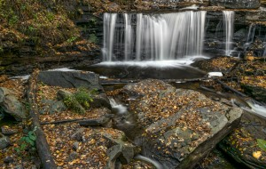 3803 Fall, October, Ricketts Glen State Park, PA