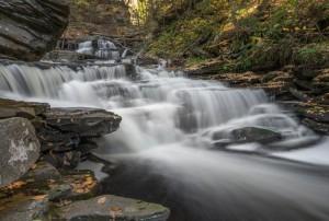3804 Cascades, October, Ricketts Glen State Park, PA