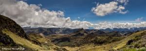3814 Panorama from Papallacta Pass, Napo, Ecuador