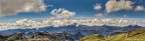 3815 Panorama from Papallacta Pass, Napo, Ecuador (Antisana, 18,714 ft)