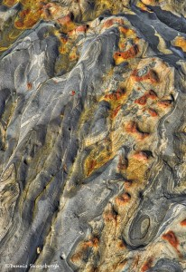 4116 Abstract Rock Pattern, Weston Beach, Point Lobos State Reserve, Big Sur, CA