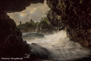 4313 Black Sand Beach, Pailoa Bay, Maui, Hawaii