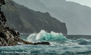 4320 Wave Action, Ke'e Beach, Kauai, Hawaii