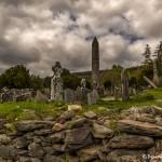 4333 Glendalough Monastery, Grave Yard, Cathedral, Ireland