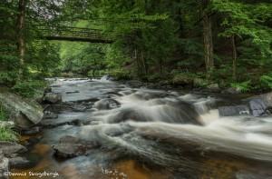 4451 Stubbs Waterfall, Arrowhead Provincial Park, Huntsville, Ontario, Canada
