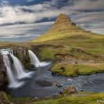 4475 Mt. Kirkjufell and Kirkjufellfoss Waterfall, Iceland