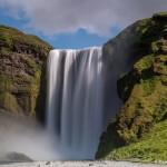4504 Skogafoss Waterfall, Iceland