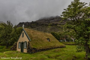 4508 Turf Church of Hof, Iceland