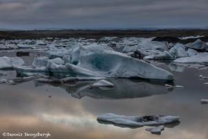 4509 Sunrise, Fjallsárlón Glacier Lagoon, Iceland