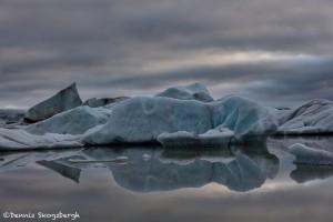 4510 Sunrise, Fjallsárlón Glacier Lagoon, Iceland