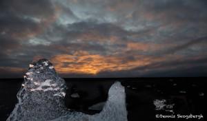 4512 Sunset at Jökulsárlón, Iceland