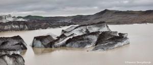 4559 Icebergs from Svinafellsjokul Glacier, Iceland