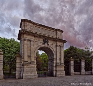 4617 Sunset, Fusilier's Arch, Stephen's Green, Dublin, Ireland