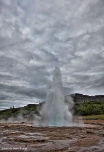 4620 Morning Eruption of the 'Great Geysir', Southwest Iceland