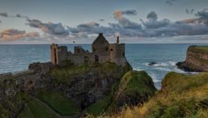 4662 Sunset, Dunluce Castle, Northern Ireland