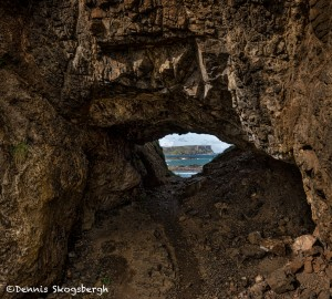 4664 Rock Arch at Templastragh Coast, Co. Antrim, Northern Ireland