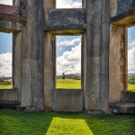 4694 Inside Downhill Demesne Looking to Mausoleum, Londonberry, Northern Ireland