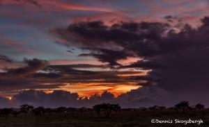 4829 Sunset at Camp, NE Serengeti, Tanzania