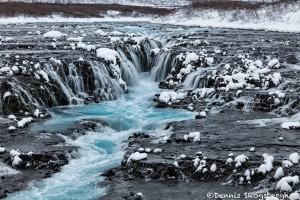 5091 Brúarfoss Waterfall, Iceland