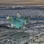 5093 Jökulsárlón Iceberg Beach, Iceland