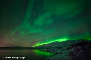 5107 Aurora Borealis (Northern Lights), Iceland