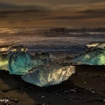 5120 Sunrise, Jökulsárlón Iceberg Beach, Iceland