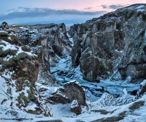 5121 Sunset, Fjaðrárgljúfur Canyon, Iceland
