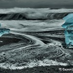 5126 Dusk, Jökulsárlón Iceberg Beach, Iceland
