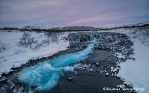 5143 Brúarfoss Waterfall, Iceland