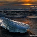 5148 Sunrise, Jökulsárlón Iceberg Beach, Iceland