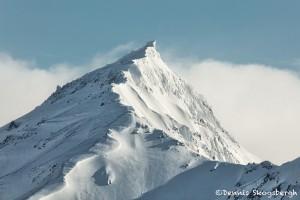 5201 Kenai Mountains, Backdrop of China Poot Bay, Alaska
