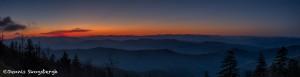 5297 Sunrise, Clingman's Dome, Great Smoky Mountains National Park, TN