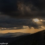 5312 Sunset, Clingman's Dome, Great Smoky Mountains National Park, TN